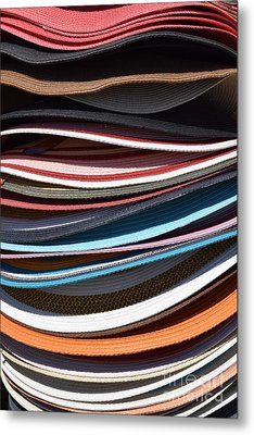 Stacked Sombreros Metal Print