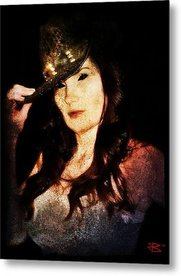 Stacy 1 Metal Print by Mark Baranowski