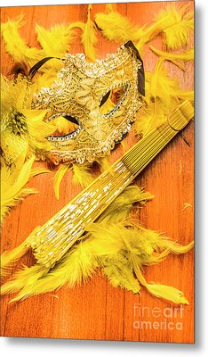 Stage And Dance Still Life Metal Print