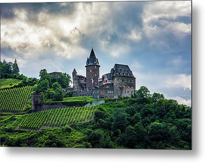 Metal Print featuring the photograph Stahleck Castle by David Morefield