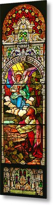 Metal Print featuring the photograph Stained Glas Scene 7 by Adam Jewell