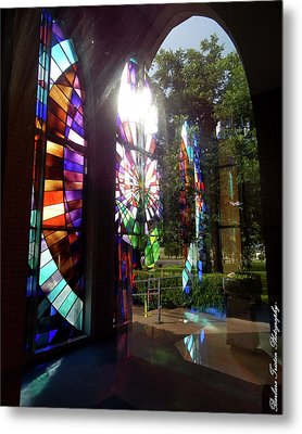 Stained Glass #4720 Metal Print