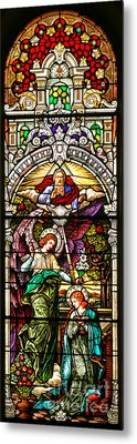 Metal Print featuring the photograph Stained Glass Scene 5 by Adam Jewell