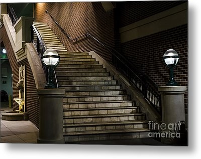 Staircase On The Blvd. Metal Print