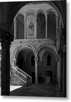 Stairs .... Metal Print by Mario Celzner