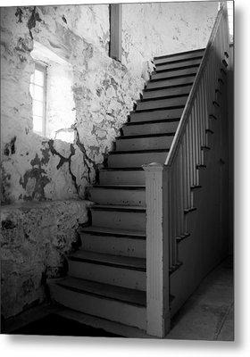 Stairs Metal Print by Bill Keiran