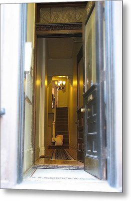 Stairs Metal Print by Christopher Woods