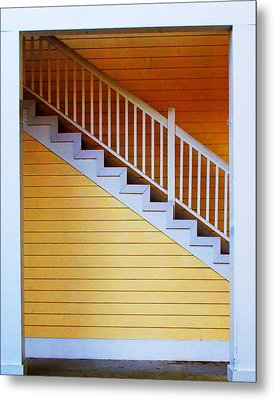 Stairs Metal Print by Farol Tomson