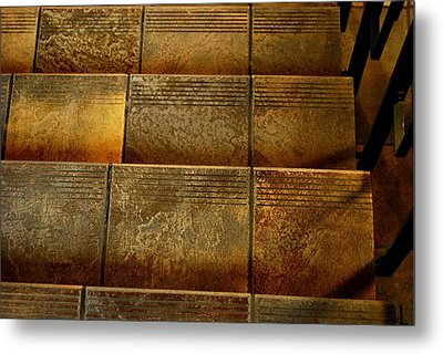 Metal Print featuring the photograph Stairs by Marilynne Bull