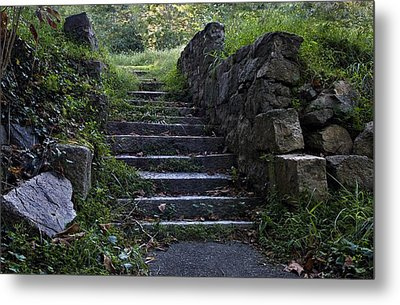 Stairs To . . .      Metal Print by Murray Bloom