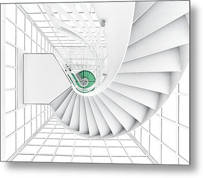 Stairs_2_kinemathek Metal Print