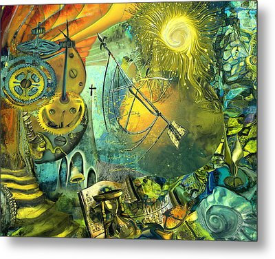 Stairway To Heaven Metal Print by Anne Weirich