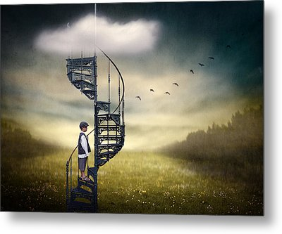 Stairway To Heaven. Metal Print