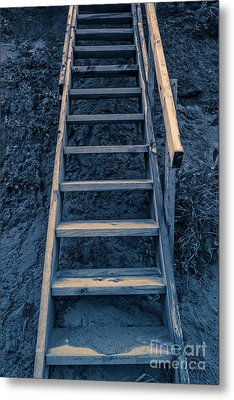 Stairway To Heaven Metal Print by Edward Fielding