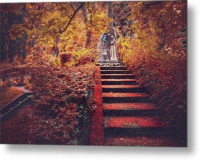 Stairway To Heaven In Riga Latvia  Metal Print