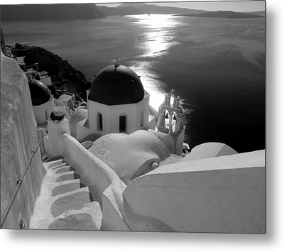 Stairway To The Church Metal Print