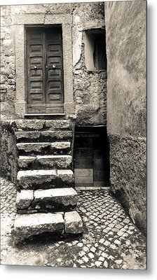 Stairway To The Past Metal Print by Emanuel Tanjala