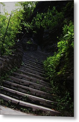Stairway To Watkins 2 Metal Print by InTheSane DotCom
