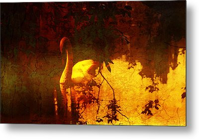 Stand By  Me  Metal Print by Andrew Hunter