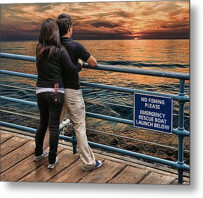 Stand By Me .... Metal Print