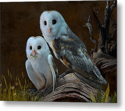 Stand By Me Metal Print by Thanh Thuy Nguyen