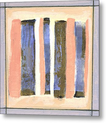 Stand Up 2 Metal Print by Jean Beal