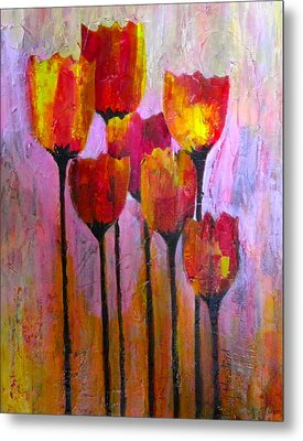 Stand Up And Shine Metal Print by Terry Honstead