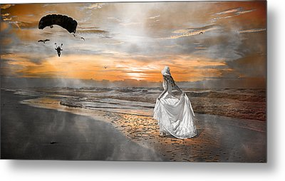 Standing By My Word Metal Print by Betsy Knapp