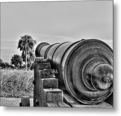Standing Ground Metal Print by Andrew Crispi