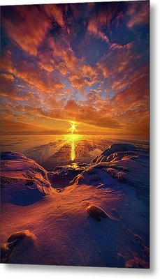 Metal Print featuring the photograph Standing Stilled by Phil Koch