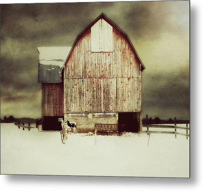 Metal Print featuring the photograph Standing Tall by Julie Hamilton