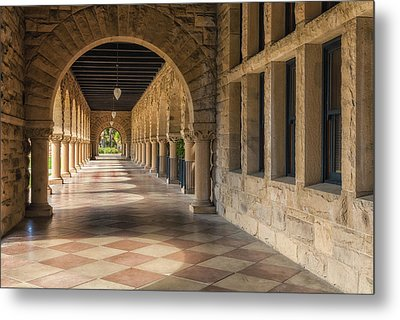 Stanford Hall Metal Print by Jonathan Nguyen