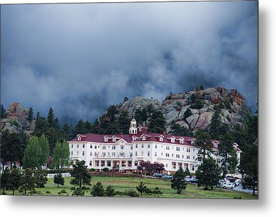 Stanley Hotel At Estes Park Metal Print by Gregory Scott