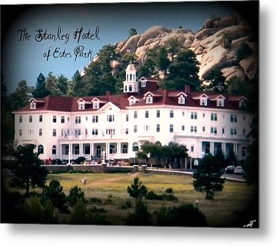 Stanley Hotel Metal Print by Michelle Frizzell-Thompson
