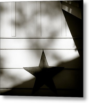 Star And Stripes Metal Print by Dave Bowman