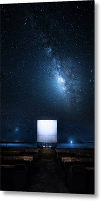 Metal Print featuring the photograph Star Cathedral by Mark Andrew Thomas