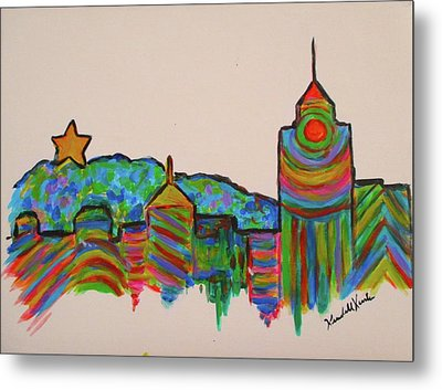 Star City Play Metal Print