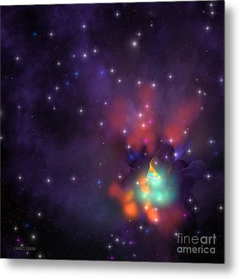 Star Cluster Metal Print by Corey Ford
