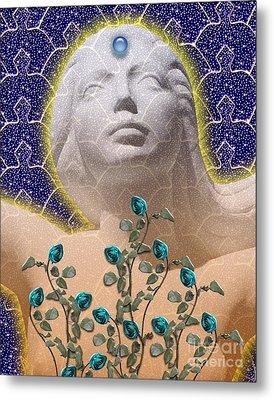 Star Goddess Metal Print by Keith Dillon