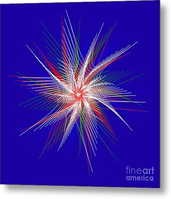 Star In Motion By Kaye Menner Metal Print