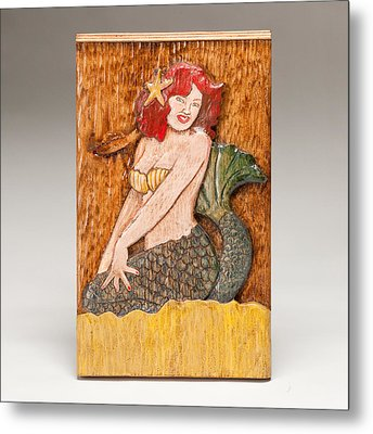 Star Mermaid Metal Print by James Neill