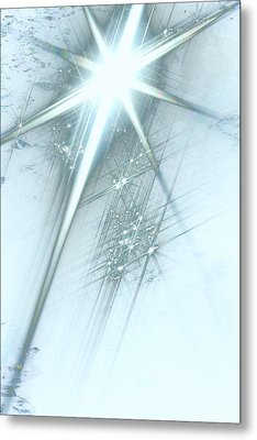 Star Of Wonder Metal Print by Ellen Henneke