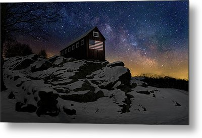 Star Spangled Banner Metal Print by Bill Wakeley
