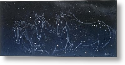 Star Spirits Metal Print