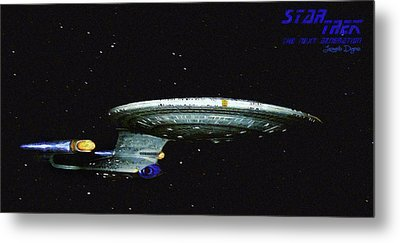 Star Trek The Next Generation Metal Print by Leonardo Digenio
