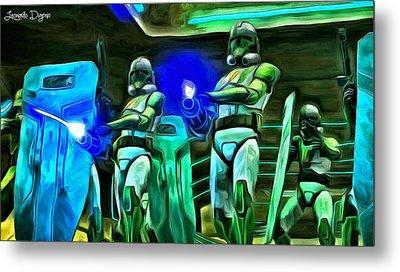 Star Wars Clone Trooper Metal Print by Leonardo Digenio