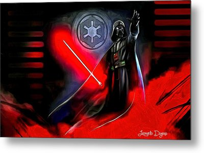 Star Wars - Come To Me Metal Print