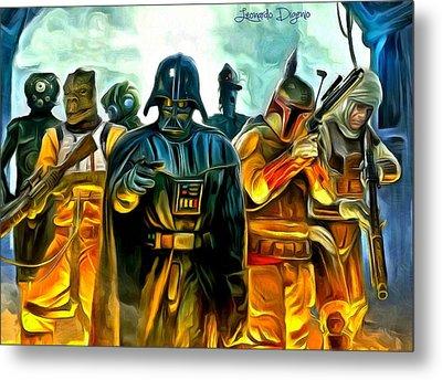 Star Wars Join Us Metal Print by Leonardo Digenio