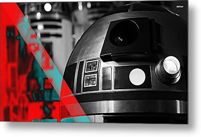 Star Wars R2-d2 Collection Metal Print by Marvin Blaine