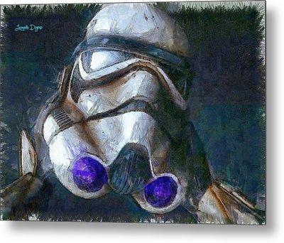 Star Wars Troop - Da Metal Print by Leonardo Digenio